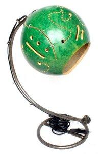 "Kalebassen-Lampe ""Lulaca"" (aus Flaschenkürbis) Upcycling - Moogoo Creative Africa"