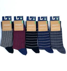 """GOTS zertifizierte Biobaumwolle Socken in """"5er Pack"""" - VNS Organic Socks"""