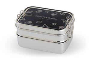 SOUL FOOD BOX Edelstahl 3in1  - ecolinda