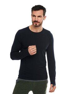 Herren Langarmshirt aus Merino Wolle - Dagsmejan