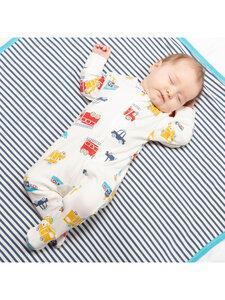 Kite Baby Langarm-Schlafanzug mit Fuß reine Bio-Baumwolle - Kite Clothing