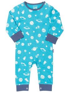 Kite Baby Schlafanzug ohne Fuß Space reine Bio-Baumwolle - Kite Clothing