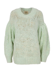 ´PURE NATURE´ Alpaka Handstrick Pullover - ACHIY
