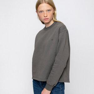 Organic Cropped Sweatshirt - Rotholz