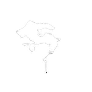 Kette SCORE, Silber 925, Sterlingsilber, Länge 43 cm, Handmade in Germany - Jonathan Radetz Jewellery