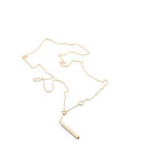 Kette SCORE, Gold 585, 14 Karat, Länge 43cm, Handmade in Germany - Jonathan Radetz Jewellery