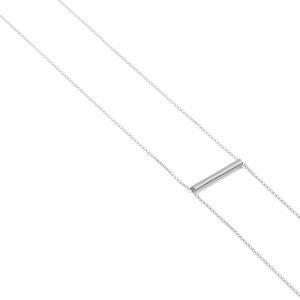 Kette BELONG, Silber 925, Sterlingsilber, Länge 80 cm oder 100 cm, verstellbar ohne Verschluss, Handmade in Germany - Jonathan Radetz Jewellery