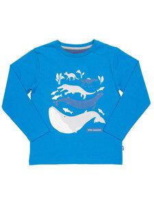Kite Kinder Langarm-Shirt Whale Evolution reine Bio-Baumwolle - Kite Clothing