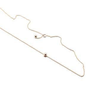 Kette SPHERE, Gold 585, 14 Karat, Länge 53 cm, Handmade in Germany - Jonathan Radetz Jewellery