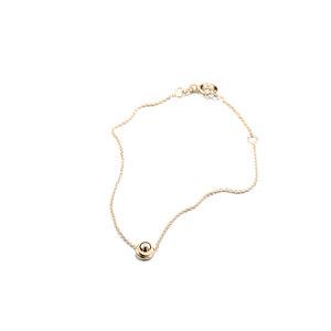 Armband SPHERE, Gold 585, 14 Karat, Länge 16/18 cm, Handmade in Germany - Jonathan Radetz Jewellery