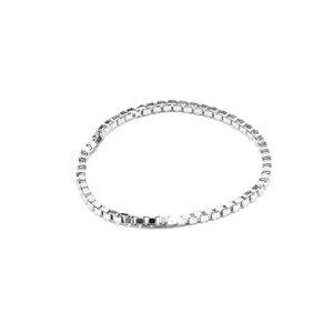 Kettenring Endless, fine(01), raw(02), Silber 925, Sterlingsilber, Größe S - L, Made in Germany - Jonathan Radetz Jewellery