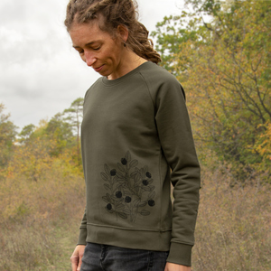 Blaubeer Pullover für Damen  - Cmig
