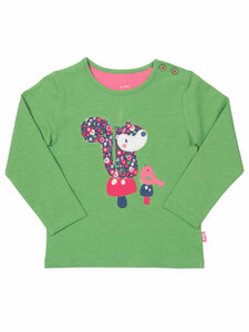 Kite Baby und Kinder Langarm-Shirt Eichhörnchen reine Bio-Baumwolle - Kite Clothing