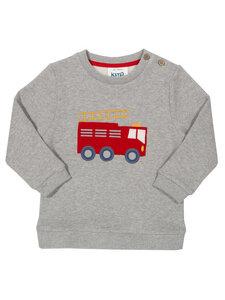 Kite Baby und Kinder Sweat-Shirt Feuerwehr reine Bio-Baumwolle - Kite Clothing