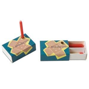 Kerzengruß GUTE BESSERUNG - Loony-Design