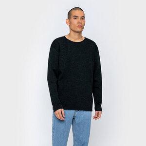 Merino Feinstrick Pullover - Rotholz