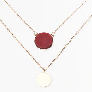 Doppelte Kette | gold, silber, roségold | AVA - ALEXASCHA