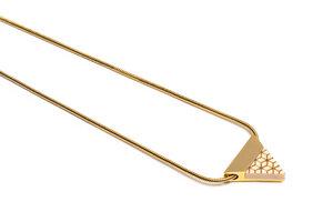 Kette mit dreieckigem Anhänger - Virie Necklace Triangle - BeWooden