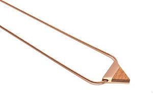 Kette mit dreieckigem Anhänger - Rea Necklace Triangle - BeWooden