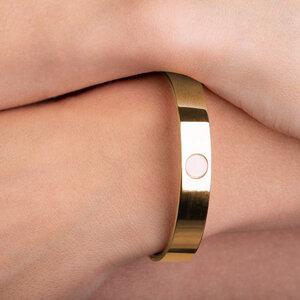 Minimalistischer Armreif gold | AVA - ALEXASCHA
