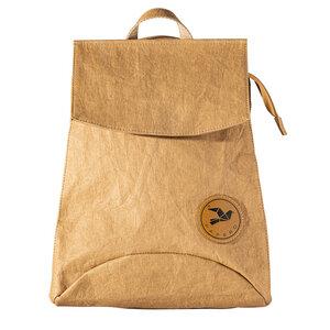 Rucksack aus Papier robust wasserfest vegan 3 in 1 Handtasche Damen - PAPERO