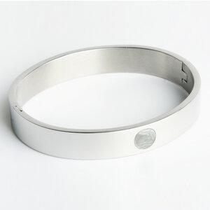 Minimalistischer Armreif silber | AVA - ALEXASCHA