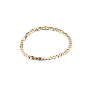 Kettenring Endless, fine(01), raw(02), Gold 585, 14 Karat, Größe S - L, Made in Germany - Jonathan Radetz Jewellery