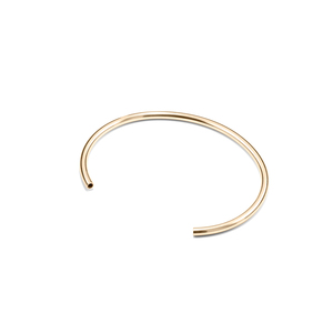 Armreif PROFILE, Gold 585, 14 Karat, one size, anpassbar, Handmade in Germany - Jonathan Radetz Jewellery