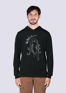 Göttin des Meeres, Leichter Herren Hoodie aus Bio Baumwolle, Kapuzensweat, Sweatshirt, - vis wear