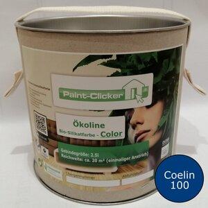 Paint-Clicker Ökoline Innensilikatfarbe Farbton (Coelin 100) - Paint-Clicker Ökoline
