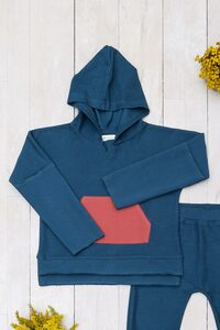 Hoodie organic French Terry  - Organic by Feldman