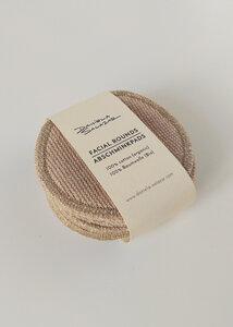10 Waschbare Abschminkpads aus Bio Baumwolle - Daniela Salazar