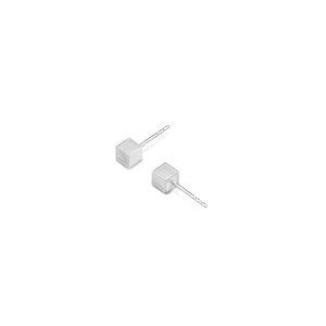 Stecker & Ohrringe CUBE, Silber 925, Sterlingsilber, CUBE 2 oder 3 mm, Länge 4 - 40 mm, Handmade in Germany - Jonathan Radetz Jewellery