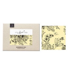 """Bio-Bienenwachstuch """"Klein"""" - 15x15 cm - little bee fresh"""