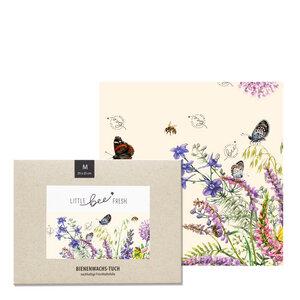 """Bio-Bienenwachstuch """"Mittel"""" - 25x25 cm - little bee fresh"""
