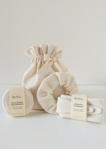 Home Spa Geschenkset aus Bio Baumwolle - Daniela Salazar