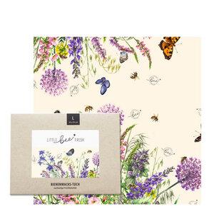"""Bio-Bienenwachstuch """"Groß"""" - 35x35 cm - little bee fresh"""