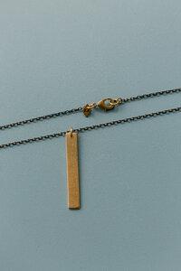 "Kette ""MARY"" aus Messing in Gold - ALMA -Faire Streetwear & Schmuck-"