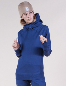 Neil Sweater, Blau, Bio-Baumwolle, Minimal - Re-Bello
