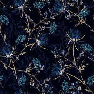 Viskose Jersey aus Bambus-Zellstoff mit Digital Druck - Ingoria