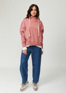Joia Damen Hoodie Kapuzenpullover Hoody Sweatshirt aus Bio Baumwolle - d'Els chic essential