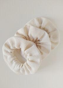 Scrunchies 3er Pack NEVA aus Bio Baumwolle - Haargummis - Daniela Salazar