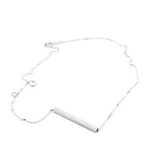 Kette Square, Silber 925, Sterlingsilber, Länge 43 - 53 cm, Handmade in Germany - Jonathan Radetz Jewellery