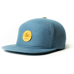Cap Freiberg aus Leinenstoff - Made in Germany - Robin