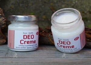 Deo-Creme Rose-Vanille 50 g - Die Kräutermagie