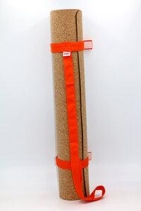 Yogamatte Kork 183x65cm mit Tragegurt - BAGHI