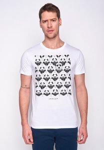 Herren Shirt 100% Biobaumwolle Animal Climate Agent Guide GOTS Zertifiziert - GreenBomb