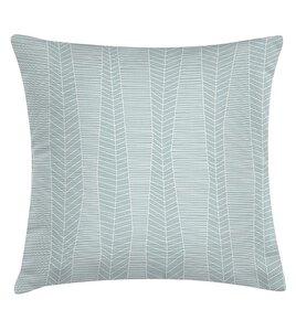 Kissen Textur Pastel Mint aus Biobaumwolle - TAK design