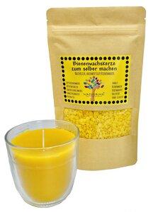 Natuurma Bienenwachskerze zum selber machen, Bastelset, DIY, Kerzen selber machen, Bienenwachs, Basteln mit Kindern - Natuurma©