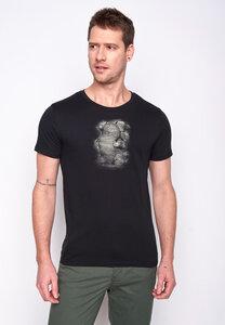 Herren Shirt 100% Biobaumwolle Animal Mole Guide GOTS Zertifiziert - GreenBomb